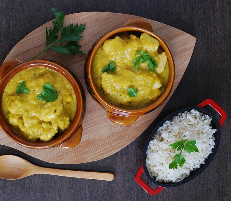 Recipe chicken curry mango sauce