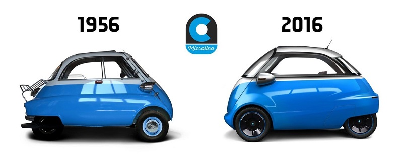 Microlino wants to show that there is room for batteries and microcars design, inspired by the BMW Isetta