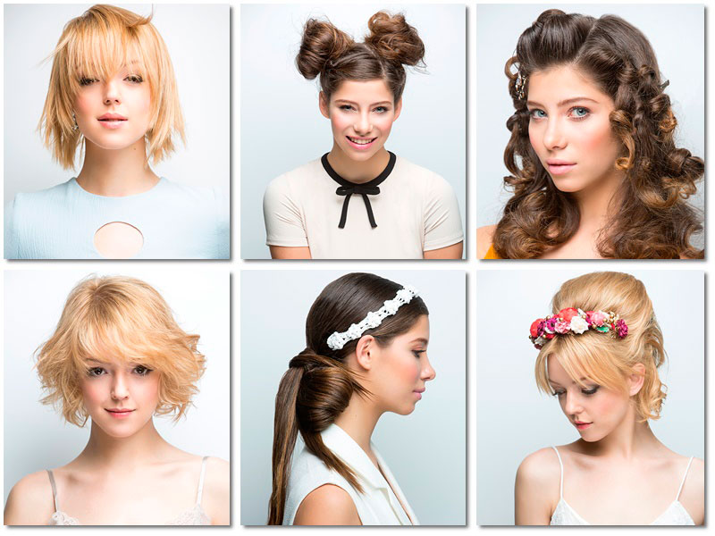 Trends in hair cuts and color for spring-summer