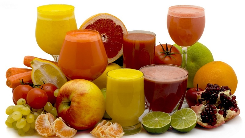 Spicy juice to recover energy and mood