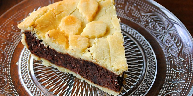 Chocolate cake and cheesecake grandmother, a very special recipe we have removed the gluten