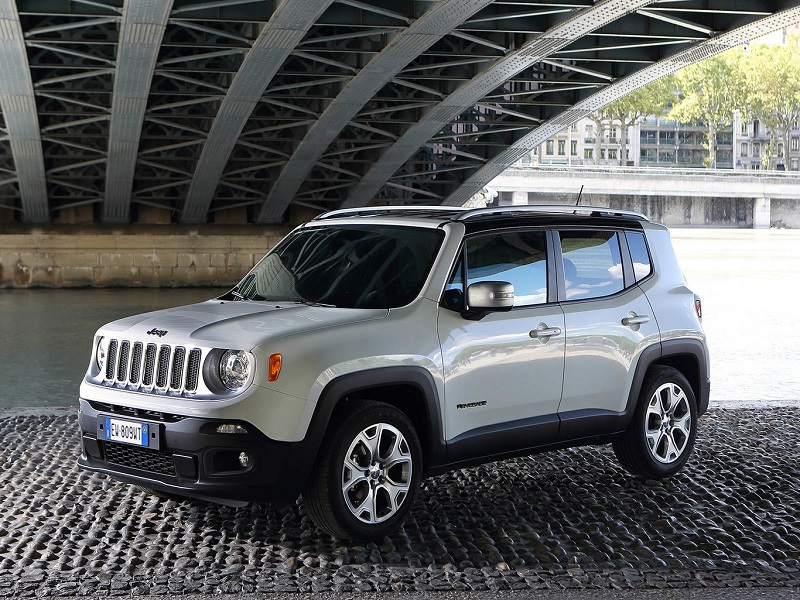 When the Jeep Renegade raises its hind legs