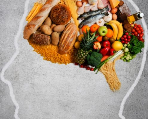 What Compose the Best Healthy Diets in Avoiding Brain Problems