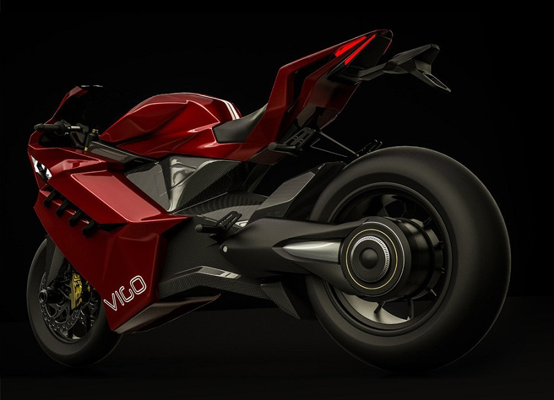 Vigo, the promising electric superbike with 640 km of autonomy, 120 hp and from $9300!