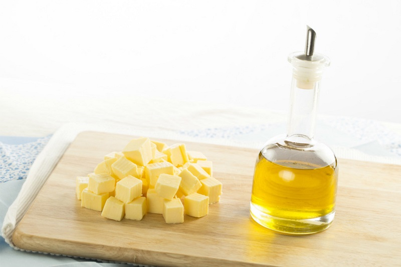 replace butter with oil