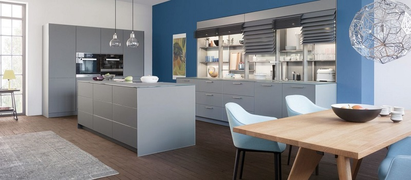 Eight practical and quiet opening systems for kitchen furniture