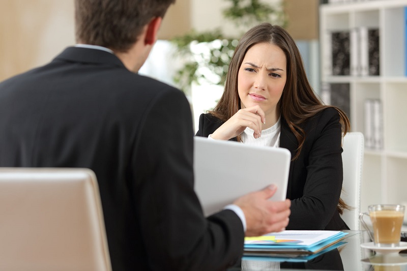 How to fix the most serious errors a job interview