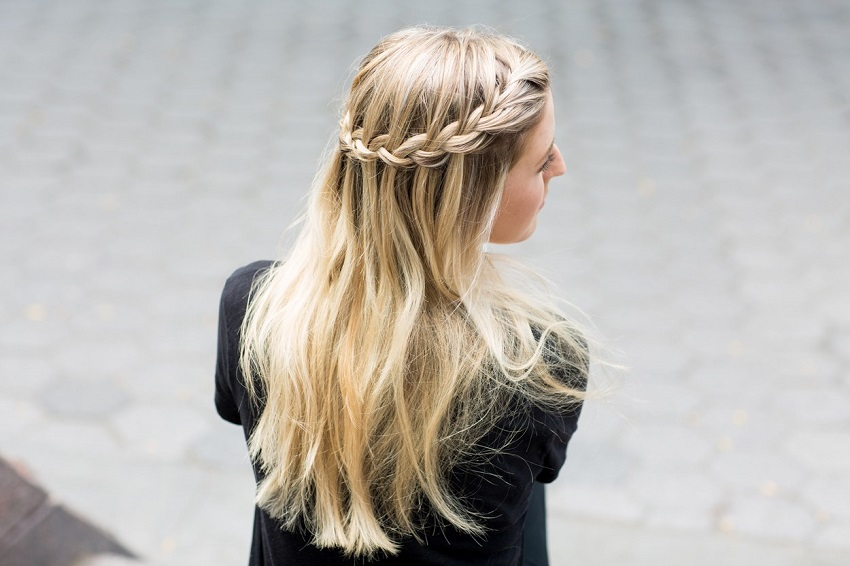 straight easy hairstyles