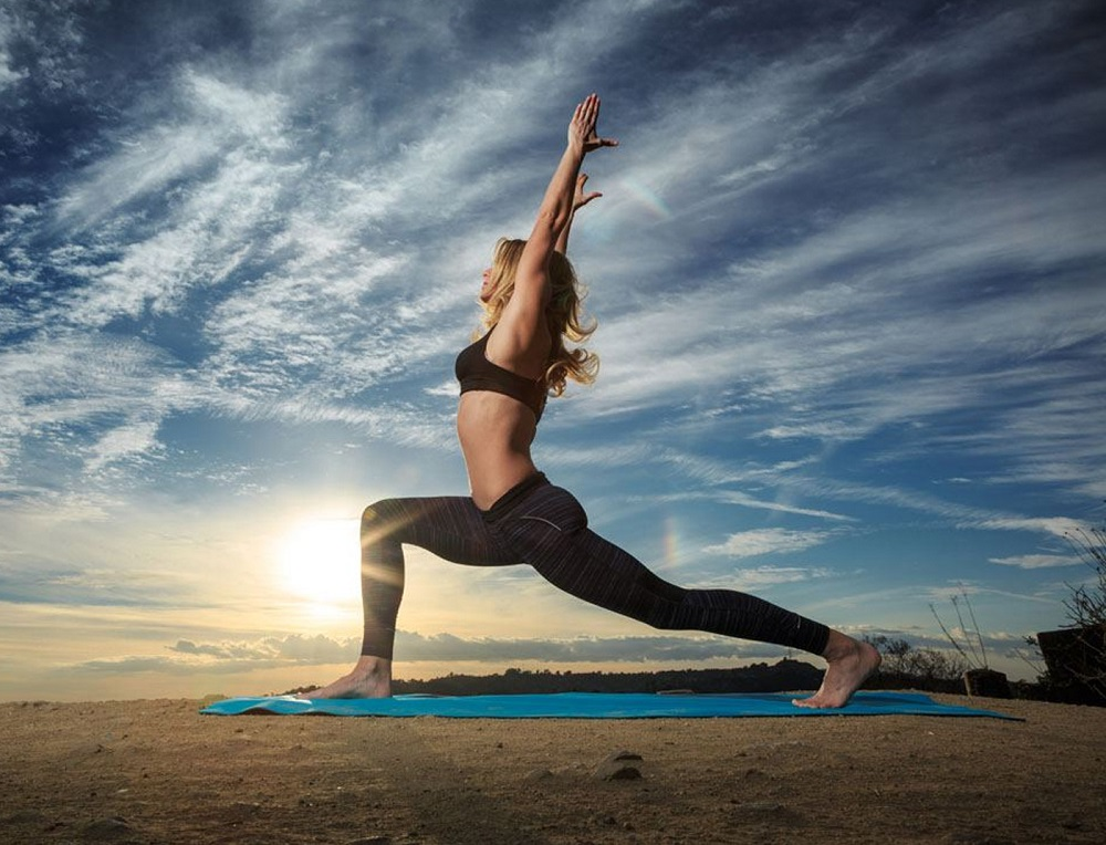 How does yoga help us in times of crisis?
