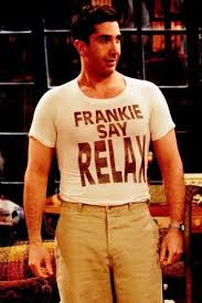 The explosion of the Frankie says relax T-shirt